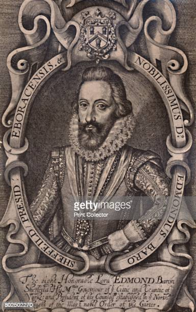 Edmund Sheffield 1st Earl of Mulgrave English statesman early 17th century From A Collection of Engraved Portraits Exhibited by the Late James...