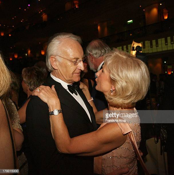 Edmund Stoiber and his wife Karin Munich at Party After The German Film Ball in the Hotel Bayerischer Hof in
