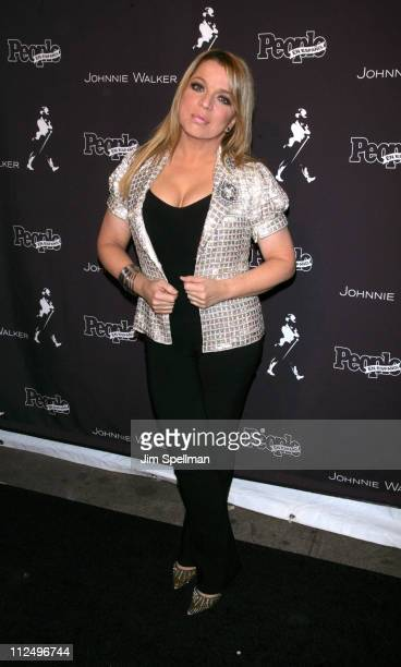 Ednita Nazario during The 7th Annual Latin GRAMMY Awards After Party People en Espanol and Johnnie Walker at Sky Studios in New York City New York...