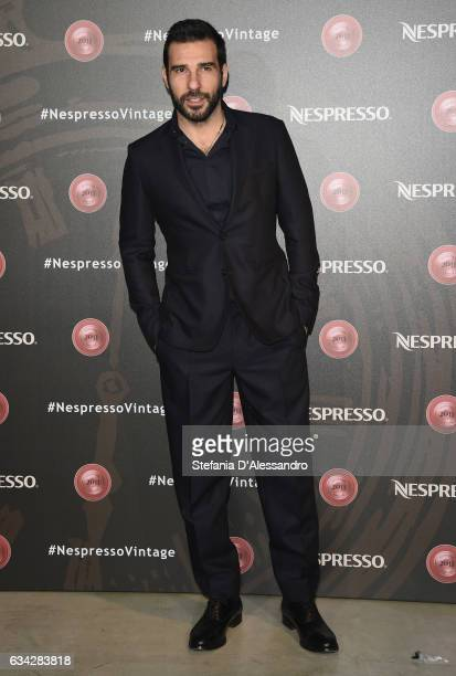 Edoardo Leo attends a photocall for Nespresso on February 8 2017 in Milan Italy