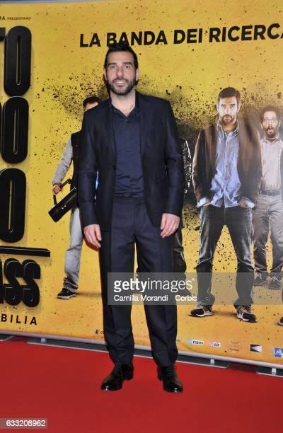 Edoardo Leo attends a photocall for 'Smetto Quando Voglio Masterclass' on January 31 2017 in Rome Italy