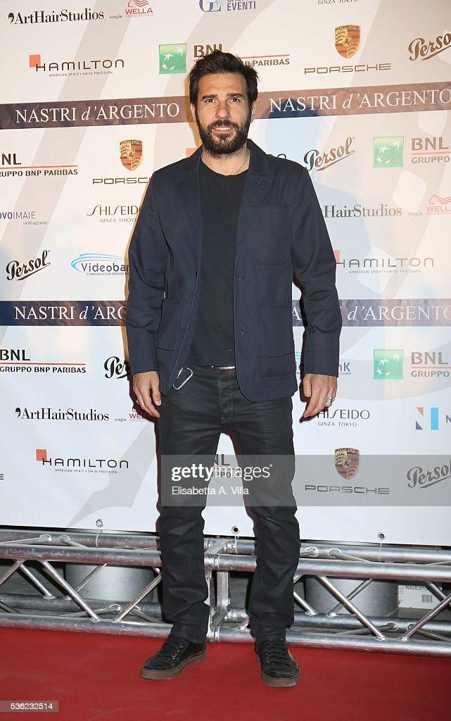 Edoardo Leo attends Nastri D'Argento 2016 Award Nominations at Maxxi on May 31, 2016 in Rome, Italy.