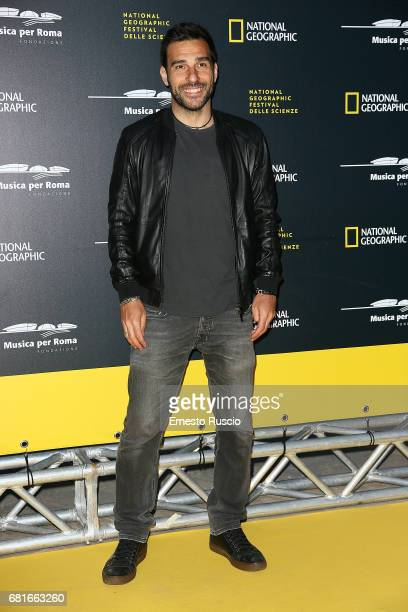 Edoardo Leo attends National Geographic's 'Genius Einstein' photocall on May 10 2017 in Rome Italy