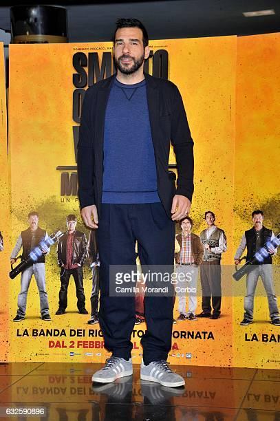 Edoardo Leo attends 'Smetto Quando Voglio Masterclass' Photocall on January 24 2017 in Rome Italy