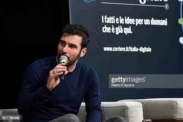 Edoardo Leo attends the 'Italia Digitale' Festival on November 8 2016 in Milan Italy