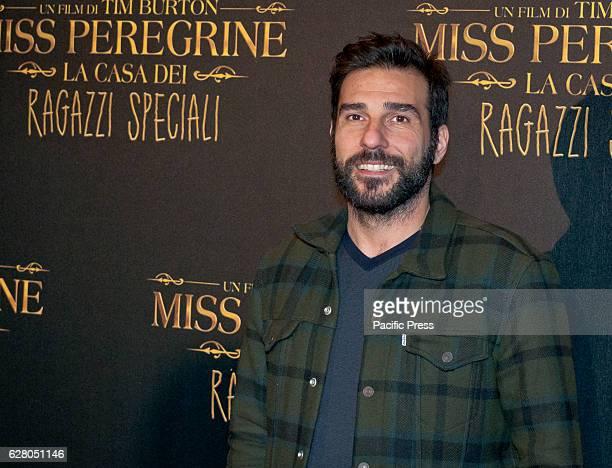 Edoardo Leo walks the red carpet for Tim Burton's 'Miss Peregrine's Home for Peculiar Children'