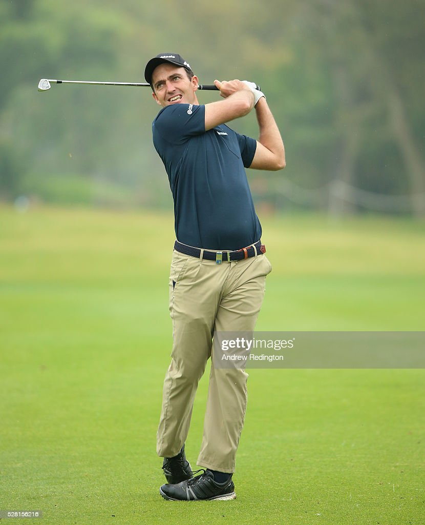 <a gi-track='captionPersonalityLinkClicked' href=/galleries/search?phrase=Edoardo+Molinari&family=editorial&specificpeople=556368 ng-click='$event.stopPropagation()'>Edoardo Molinari</a> of Italy in action during the Pro Am prior to the start of the Trophee Hassan II at Royal Golf Dar Es Salam on May 4, 2016 in Rabat, Morocco.