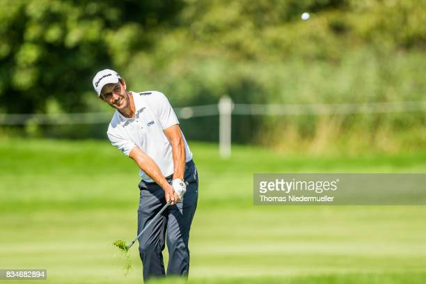 Edoardo Molinari of Italy is seen during day two of the Saltire Energy Paul Lawrie Matchplay at Golf Resort Bad Griesbach on August 18 2017 in Passau...