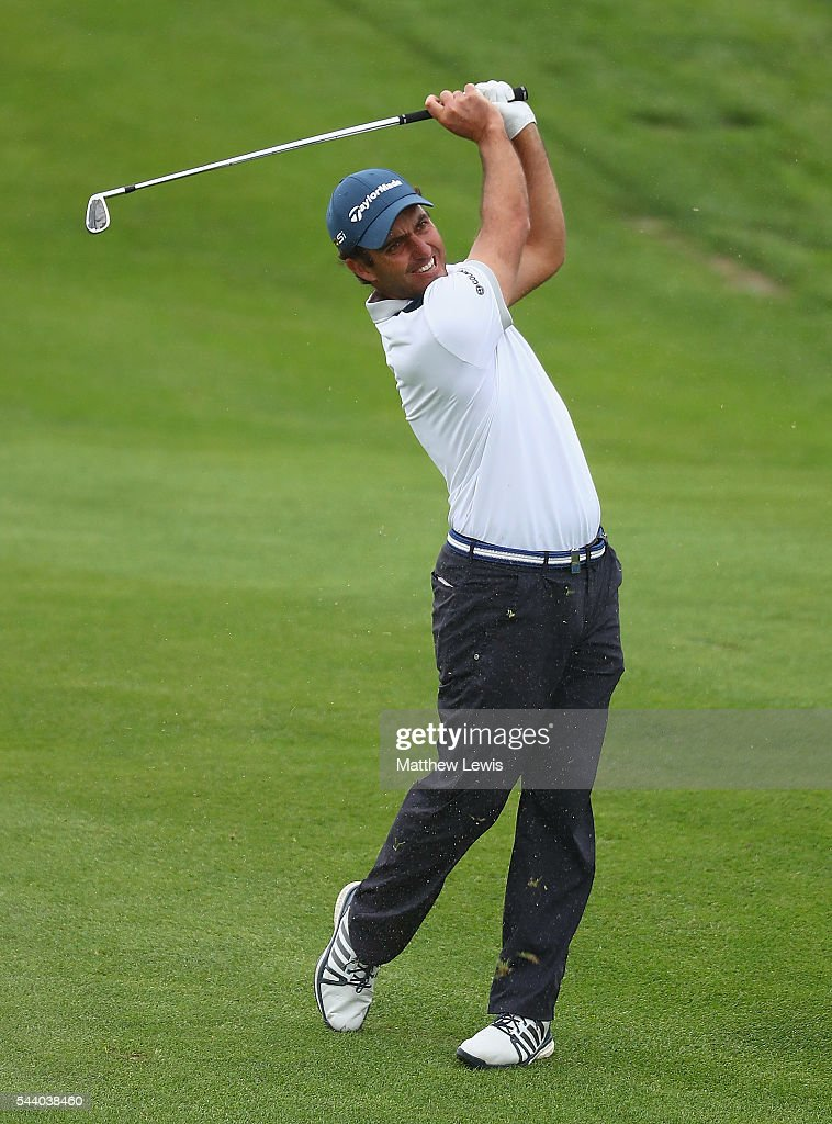 <a gi-track='captionPersonalityLinkClicked' href=/galleries/search?phrase=Edoardo+Molinari&family=editorial&specificpeople=556368 ng-click='$event.stopPropagation()'>Edoardo Molinari</a> of Italy plays a shot from the fairway during day two of the 100th Open de France at Le Golf National on July 1, 2016 in Paris, France.