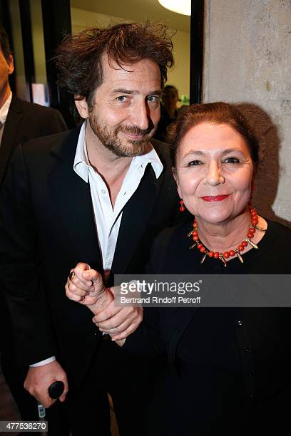 Edouard Baer and Guest attend the 'Alaia' Azzedine Alaia Perfum Launch Party on May 21 2015 in Paris France