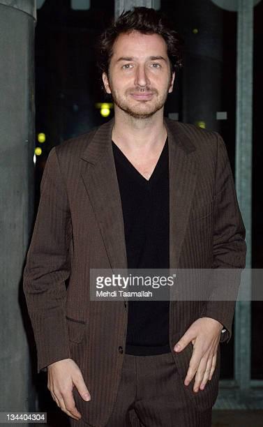 Edouard Baer during 'Combien tu m'aimes' Paris Premiere at New Cineclub in Paris France