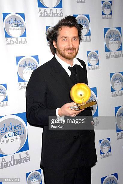 Edouard Baer during Paris Premiere Les Globes de Cristal 2007 Awards Ceremony February 15 2007 in Paris France