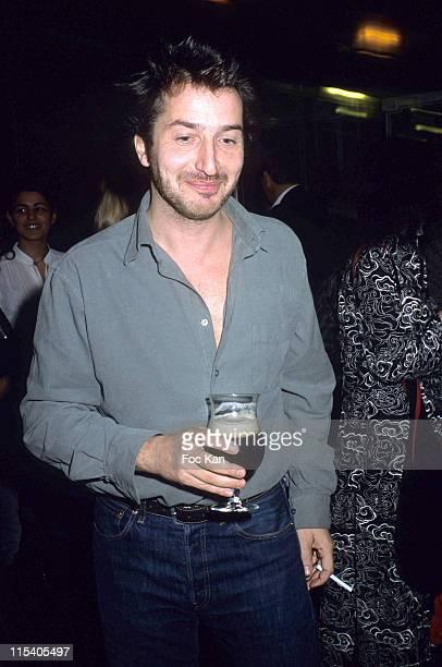 Edouard Baer during The Cafe De Flore 2005 Award November 8 2005 at Cafe de Flore in Paris France