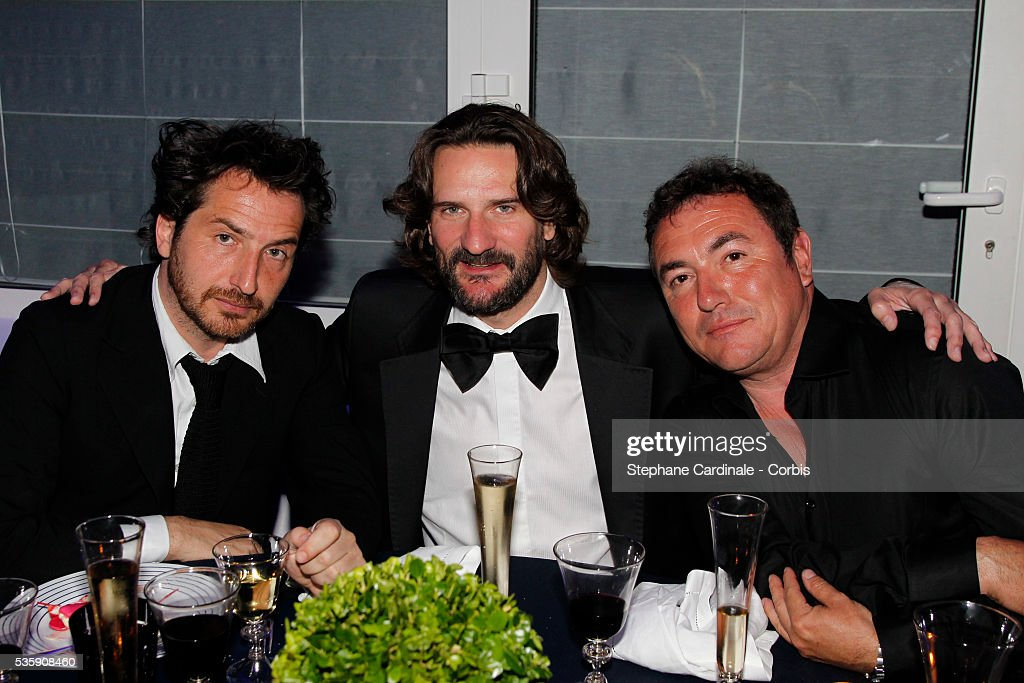 Edouard Baer, Frederic Beigdeber attend the 'Dior Dinner' during the 63rd Cannes International Film Festival.