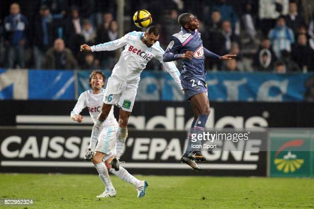 Edouard CISSE / Anthony MODESTE Marseille / Bordeaux 20eme journee de Ligue 1
