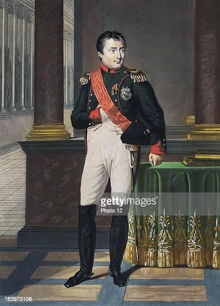 Edouard DetailleFrench schoolPortrait of General Bonaparte Watercolour drawing gouache on board Alberto Ricci Photo