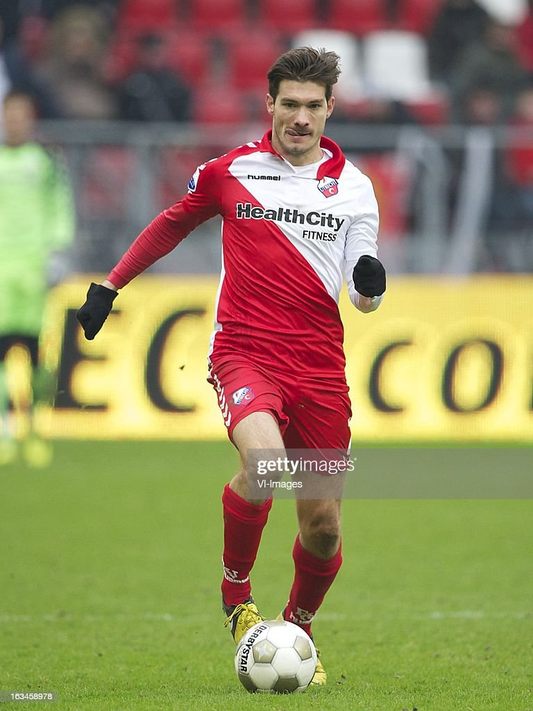Edouard Duplan of FC Utrecht during the Dutch Eredivisie match between FC Utrecht and RKC Waalwijk at the Galgenwaard on march 10, 2013 in Utrecht, The Netherlands