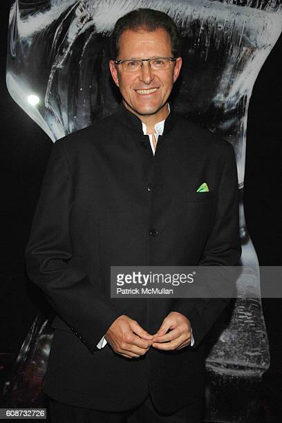 Edouard Ettedgui attends MANDARIN ORIENTAL HOTEL GROUP Party for the SOTHEBY'S Contemporary Asian Art Exhibition at The Mandarin Oriental on December...