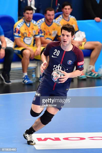 Edouard Kempf of PSG during the Champions League match between Paris Saint Germain and Kielce on November 5 2017 in Paris France