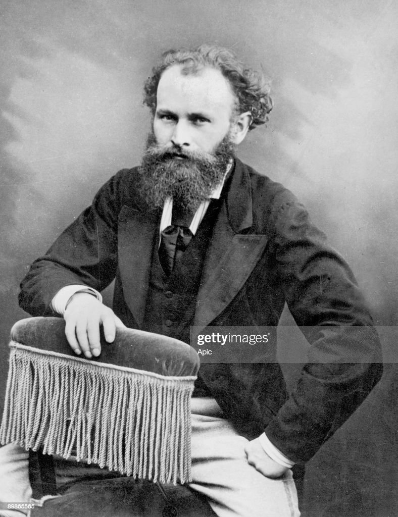 Edouard Manet (1832-1883) french impressionnist painter, picture by Nadar c. 1875