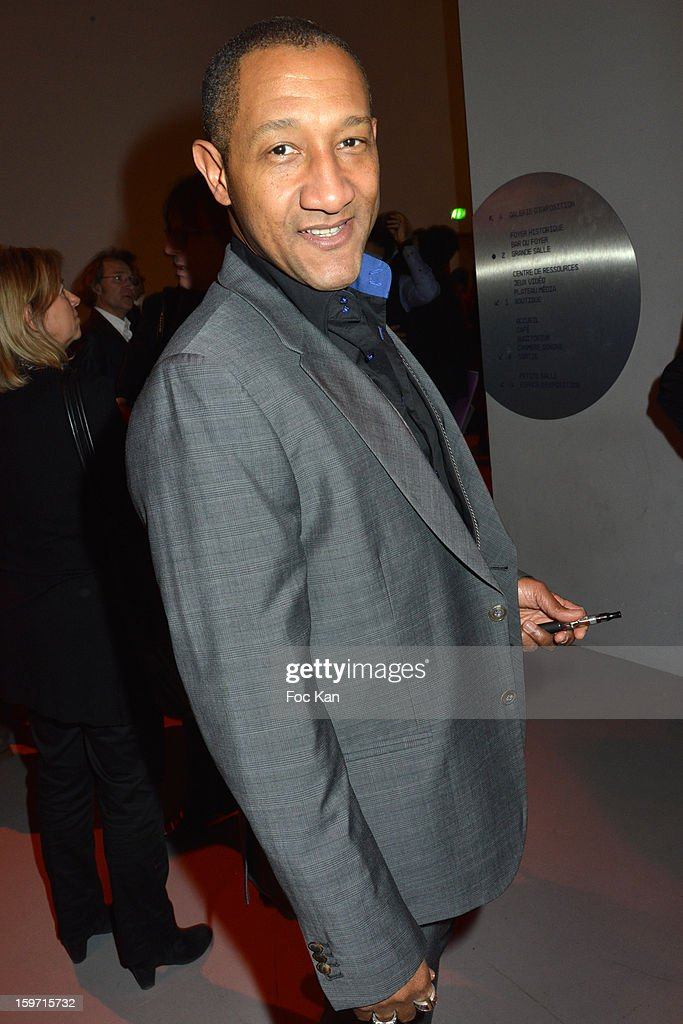 Edouard Montoute attends 'Les Lumieres 2013' Cinema Awards 18th Ceremony at La Gaite Lyrique on January 18, 2013 in Paris, France.