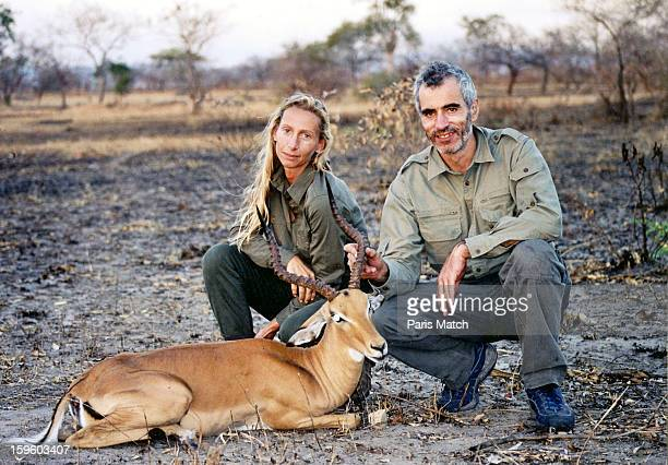 Edouard Stern and his mistress Cecile Brossard in a picture in January 2003 at an unspecified location Edouard Stern was found dead on March 1 2005...