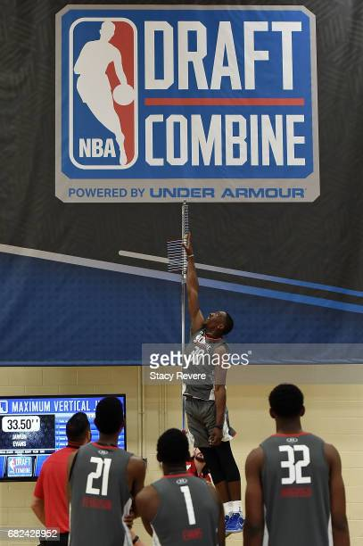 Edrice Adebayo during Day Two of the NBA Draft Combine at Quest MultiSport Complex on May 12 2017 in Chicago Illinois NOTE TO USER User expressly...
