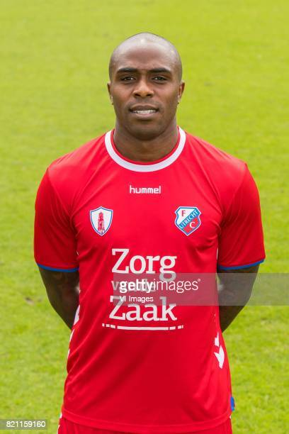 Edson Braafheid during the team presentation of FC Utrecht on July 22 2017 at Sportcomplex Zoudenbalch in Utrecht The Netherlands