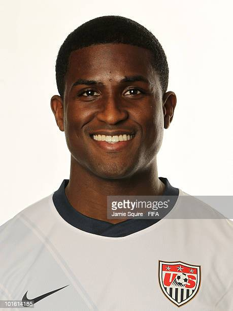 Edson Buddle of USA poses during the official FIFA World Cup 2010 portrait session on June 3 2010 in Centurion South Africa