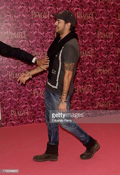 Edu Cruz attends Piaget private Dinner photocall at Kabuki restaurant on June 6 2013 in Madrid Spain