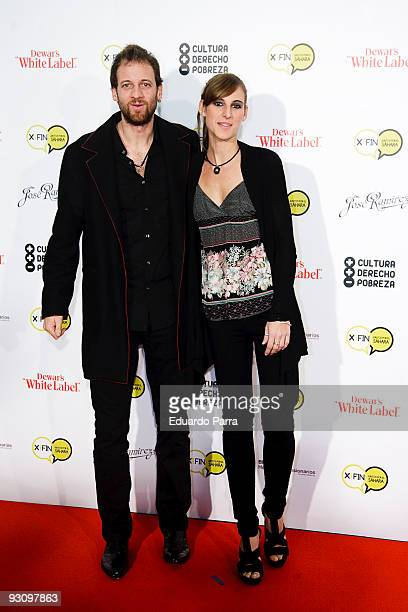 Edu Soto and Conchita attend the Juntos por el Sahara charity concert at Prize Circus on November 16 2009 in Madrid Spain