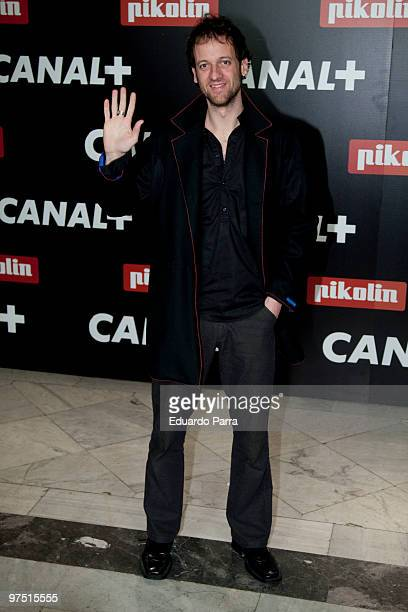 Edu Soto attends the 'Canal Oscars' party at the Circulo de Bellas Artes on March 7 2010 in Madrid Spain