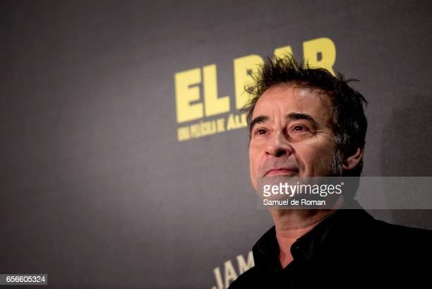 Eduard Fernandez attends 'El Bar' premiere at Callao cinema on March 22 2017 in Madrid Spain