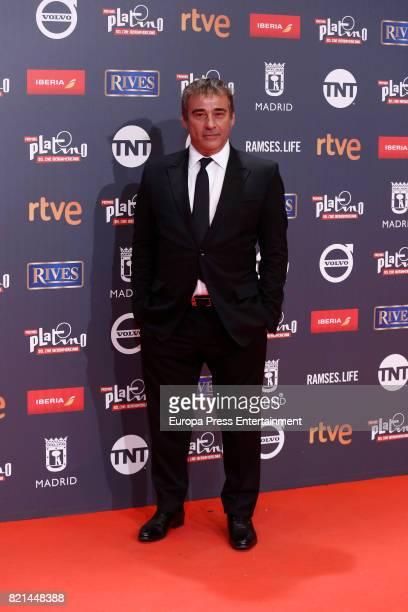 Eduard Fernandez attends Platino Awards 2017 at La Caja Magica on July 22 2017 in Madrid Spain