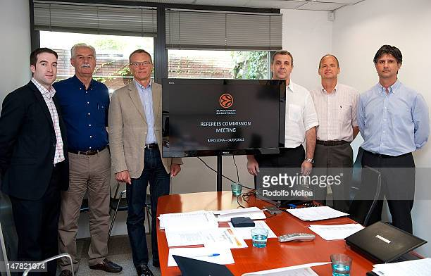 Eduard J Scott Sports Director Costas Rigas Refereeing Director Romas Brazauskas EB Referees Technical Commission Members Juan Carlos Mitjana and...