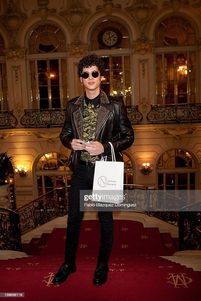 Eduardo Casanova attends new book 'Belleza Inteligente' presentation at Casino de Madrid on January 16, 2013 in Madrid, Spain.