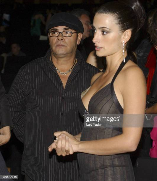 Eduardo Cruz and Penelope Cruz