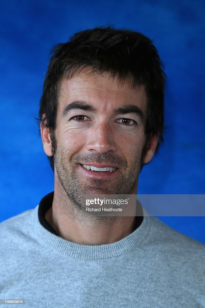 Eduardo De La Riva of Spain poses for a portrait after the first round of the European Tour Qualifying School Finals at PGA Catalunya Resort on November 24, 2012 in Girona, Spain.