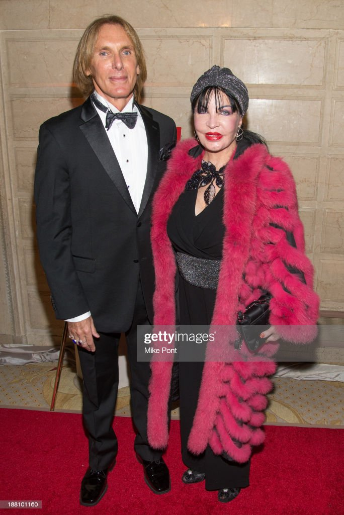 Eduardo Donati and Loreen Arbis attend the 20th New York Landmarks Conservancy's Living Landmarks Ceremony at The Plaza Hotel on November 14, 2013 in New York City.
