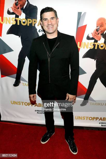 Eduardo Khawam attends 'Unstoppable' Tariku Bogale book launch on September 22 2017 in West Hollywood California
