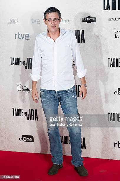 Eduardo Madina attends 'Tarde Para La Ira' premiere at Capitol Cinema on September 8 2016 in Madrid Spain