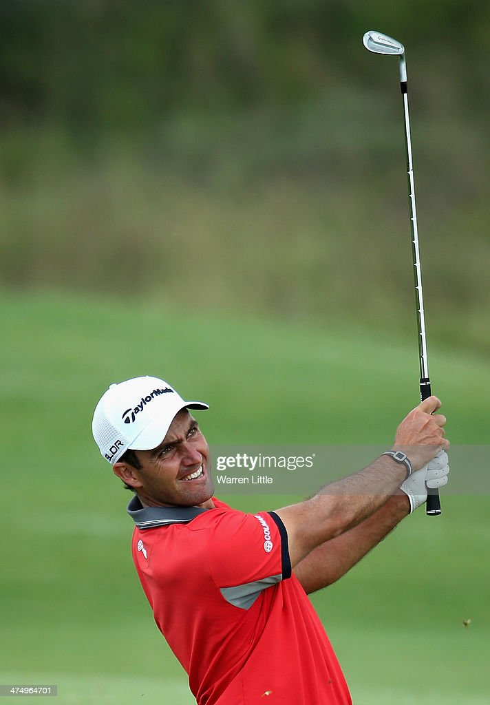 Eduardo Molinari of Italy in action during a practice round ahead of the Tshwane Open at Copperleaf Golf & Country Estate on February 26, 2014 in Centurion, South Africa.