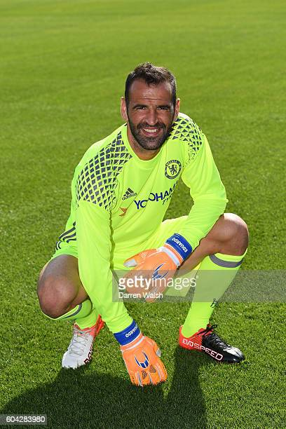 Eduardo of Chelsea during the Chelsea Official Team Group at the Cobham Training Ground on September 13 2016 in Cobham England