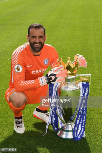 Eduardo of Chelsea during the Chelsea Squad Photocall at Chelsea Training Ground on September 15 2017 in Cobham England