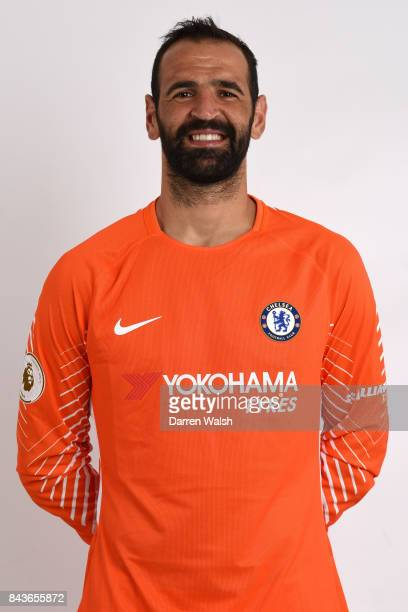 Eduardo of Chelsea poses during the Chelsea photo call at Chelsea Training Ground on August 8 2017 in Cobham England