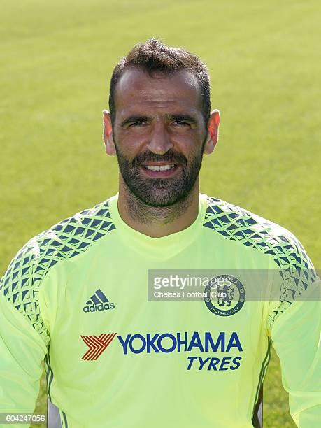 Eduardo of Chelsea poses for the headshot at Chelsea Training Ground on September 13 2016 in Cobham England