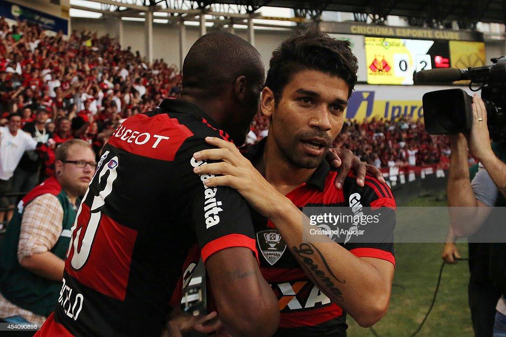 Criciuma v Flamengo - Brasileirao Series A 2014