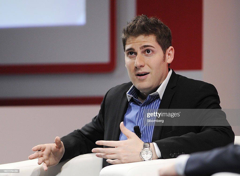 Eduardo Saverin, co-founder of Facebook Inc., speaks during a Wall Street Journal 'Unleashing Innovation' event in Singapore, on Thursday, Feb. 21, 2013. Saverin said he never imagined Facebook to grow to where it has. Photographer: Munshi Ahmed/Bloomberg via Getty Images