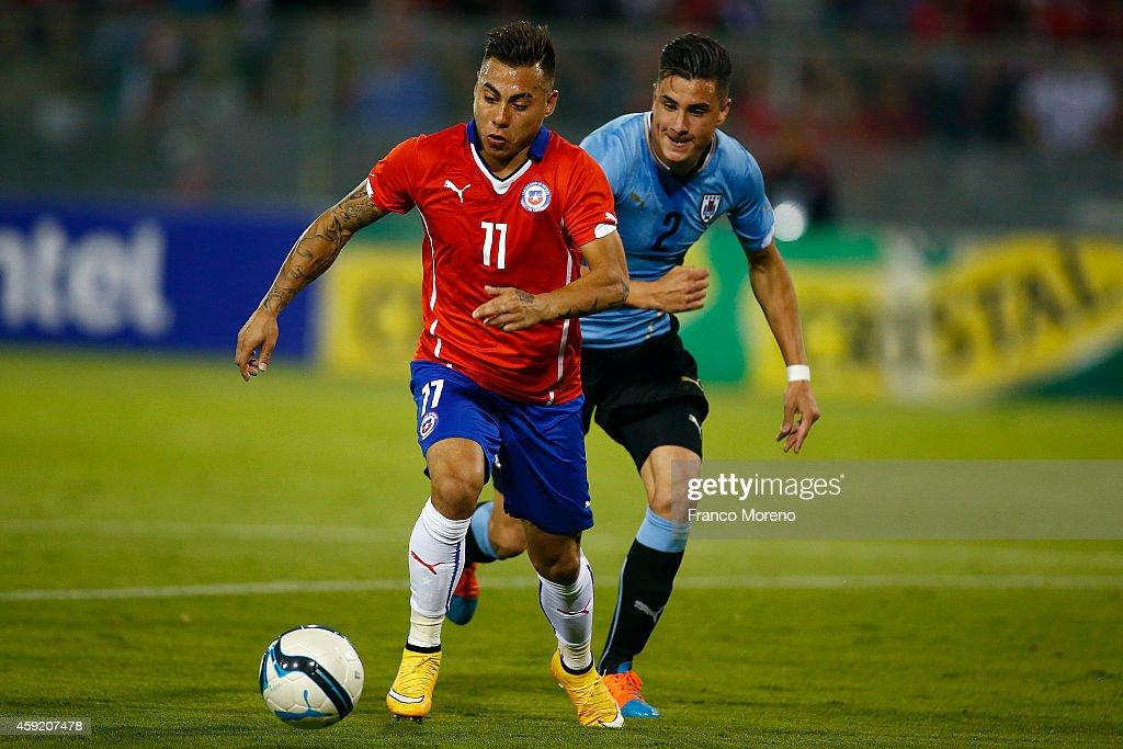 Chile v uruguay international friendly match getty images - Jose santiago vargas ...
