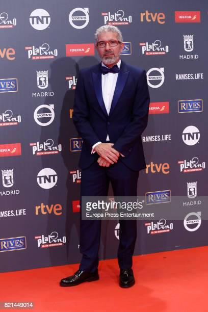 Eduardo Velasco attends Platino Awards 2017 at La Caja Magica on July 22 2017 in Madrid Spain
